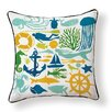 Naked Decor Under the Sea Indoor/Outdoor Throw Pillow