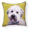 Naked Decor Pooch Décor Wheaten Terrier Indoor/Outdoor Throw Pillow
