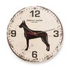 "Naked Decor 12"" Great Dane Vintage Wall Clock"