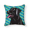 Naked Decor Pooch Décor Labrador Indoor/Outdoor Throw Pillow
