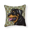 Naked Decor Pooch Décor Rottweiler Indoor/Outdoor Throw Pillow