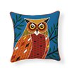 Naked Decor Foreset Owl Indoor/Outdoor Throw Pillow