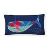 Naked Decor Whale Lumbar Pillow