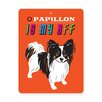 Naked Decor Papillon Tin Sign Wall Décor