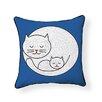 Naked Decor Little Kitty Throw Pillow