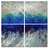 All My Walls Joy in Light III by Lynne Taetzsch 4 Piece Original Painting Set