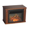 World Marketing Comfort Glow Bookshelf Electronic Fireplace