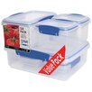 Sistema USA Klip It 12-Piece Lunch Storage Containers Set (Set of 6)