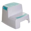 Dreambaby 2-Step Plastic Step Stool with 200 lb. Load Capacity