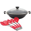 Circulon Acclaim Non-Stick Wok Set with Lid