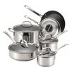 Circulon Genesis 10 Piece Stainless Steel Cookware Set