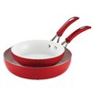 SilverStone 2-Piece Non-Stick Twin Pack Deep Skillet Set