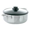 Frieling Black Cube 4-qt. Round Casserole with Lid