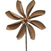 Zinnia Wind Spinner - World Source Partners Garden Statues and Outdoor Accents