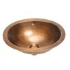 Belle Foret Small Oval Bathroom Sink