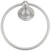 Belle Foret Wall Mounted Brass Towel Ring