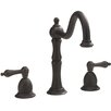 Belle Foret Double Handle Widespread Kitchen Faucet with Lever Handles