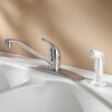 Pfister Single Handle Kitchen Faucet with Side Spray