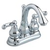 American Standard Dazzle Centerset Bathroom Faucet with Double Lever Handles