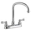 American Standard Hampton Two Handle Centerset kitchenFaucet with Side Spray