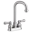 American Standard Hampton Two Handle Centerset Bar Faucet with Optional Lever Handles