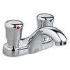 American Standard Centerset Metering Faucet with Double Handles