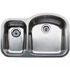 """Blanco Wave 31.5"""" x 20.88"""" Plus Reverse Bowl Undermount Kitchen Sink"""