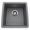 "Blanco Performa 17.5"" x 17"" Silgranit II Single Bowl Undermount Bar Sink"