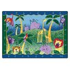 Carpets for Kids Literacy Alphabet Jungle Kids Area Rug