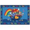 Carpets for Kids Value Plus Noah's Alphabet Animals Area Rug