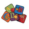 Carpets for Kids Reading by the Book Squares Alphabet Area Rug (Set of 26)