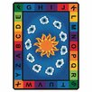 Carpets for Kids Literacy Sunny Day Learn and Play Kids Area Rug