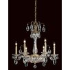 Schonbek Fontana Luce 8 Light Crystal Chandelier