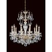 Schonbek Sonatina 10 Light Crystal Chandelier