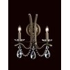 Schonbek Vesca 2 Light Wall Sconce