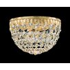 Schonbek Petit 4 Light Crystal Flush Mount