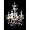 Schonbek La Scala 4 Light Convertible Chandelier