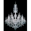 Schonbek Sterling 20 Light Crystal Chandelier