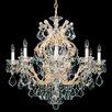 Schonbek Maria Theresa 10 Light Crystal Chandelier