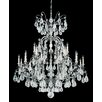 Schonbek Versailles Rock 25 Light Crystal Chandelier