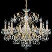 Schonbek Century 9 Light Crystal Chandelier
