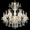 Schonbek Century 12 Light Crystal Chandelier