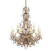 Schonbek Genesis 15 Light Crystal Chandelier