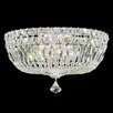 Schonbek Petit Crystal Deluxe 5 Light Flush Mount