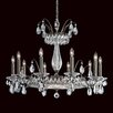 Schonbek Fontana Luce 10 Light Crystal Chandelier