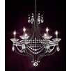 Schonbek Valterri 6 Light Candle Chandelier