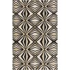 Malene b Voyages Black Geometric Area Rug