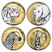 Jonathan Adler 4 Piece Animalia Coasters (Set of 4)