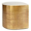 Jonathan Adler Brass Teardrop End Table