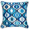Jonathan Adler Waves Wool Throw Pillow